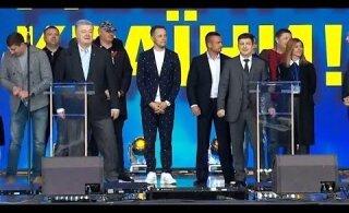 ВИДЕО: Порошенко VS Зеленский. Дебаты кандидатов в президенты Украины