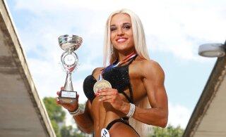 Eesti uus fitnessitäht. Tugev ja enesekindel naine, kellest saab suure laeva kapten
