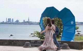 FOTO | Üle Eesti paigaldati juubelilaulupeo installatsioonid
