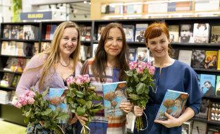 """GALERII   Mirjam Hakkaja, Kristina Paškevicius ja Katrin Saali Saul esitlesid oma uut raamatut """"Elu puudutus"""""""