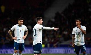 Lionel Messi naasis koondisse, kuid Argentina kaotas