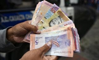 Венесуэла выпустила банкноту в миллион боливаров. Но она стоит всего полдоллара