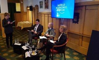ФОТО | Ратас на форуме в Давосе: жизненный успех человека не должен зависеть от благосостояния его родителей