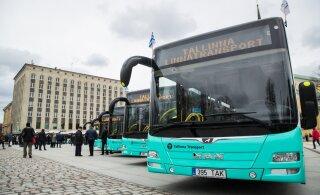 Homme hommikust suunatakse bussiliinid nr 7 ja 13 ümbersõidule