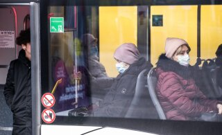 Общественным транспортом в Таллинне пользуется 76% жителей