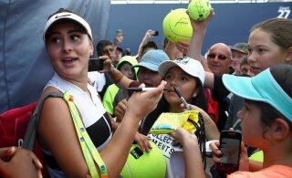 Millise kingi lubab endale pärast 1,3 miljoni dollari võitmist tennisemaailma tõusev täht?