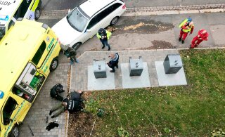 ФОТО и ВИДЕО | В Осло мужчина на угнанной скорой сбил несколько человек