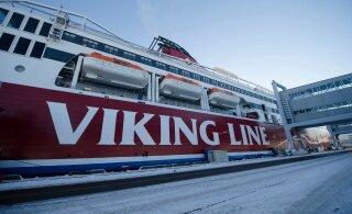 Viking Line pani Eesti meeskonnaga laeva kai äärde ja asendas selle soomlastega mehitatud laevaga