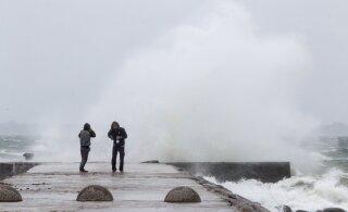 Terve Eesti sai homseks tormihoiatuse - tuul läheb eriti tugevaks Lääne-Eestis
