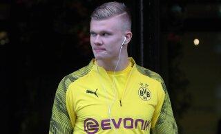 Elu läheb edasi: Dortmundi Borussia staarid naasid eesotsas Haalandiga treeningutele