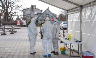 За сутки в Эстонии выявлено 60 новых случаев коронавируса. Из них 22 инфицированных - футболистки сборной Словении