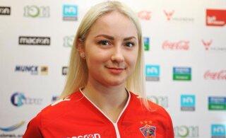 Алина Молкова признана лучшей гандболисткой Эстонии