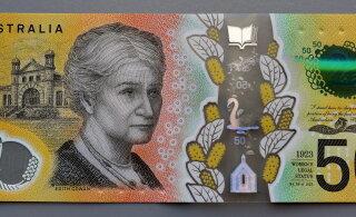 Paljudel Austraalia 50-dollarilistel on piinlik õigekirjaviga