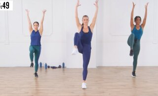 VIDEO   30 minutiga tantsides supervormi! Võta ette see lühike trenn ja oled suveks saledam