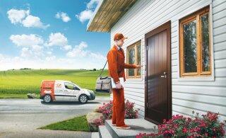 Postiteenused tulevad maal ka koju kätte