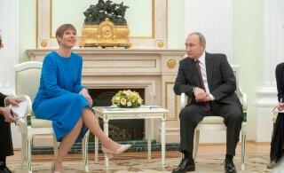 Керсти Кальюлайд пригласила Путина в Эстонию
