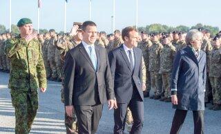 В ходе визита в страны Балтии Макрон не посетил Эстонию, а Ратас отказался подписать совместное заявление. Все дело в EKRE?