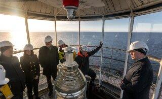 FOTOD | Peaminister külastas Keri saart ja tuletorni