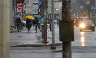 На выходных нас ждет настоящая эстонская осень: будет облачно и дождливо