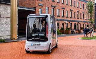 FOTOD | Eestis loodud isejuhtiv buss alustab tegevust ka välisriikides