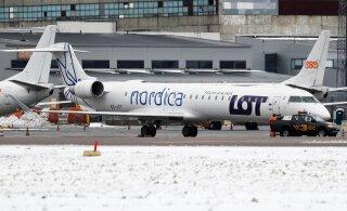 Из-за технических проблем отменены несколько прибывающих и вылетающих из Таллинна авиарейсов