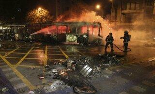 В столице Чили ввели режим чрезвычайного положения из-за беспорядков