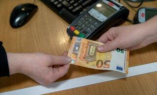Эстонские предприятия прогнозируют скорое исчезновение наличных денег