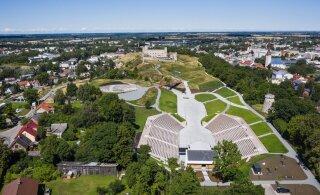 VIDEO ja FOTOD | Rakvere Vallimäele rajati hiiglaslik vabaõhukeskus