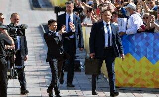 """""""В Украине — война, ему не до банкета"""". Шестой президент Украины и седьмая инаугурация"""