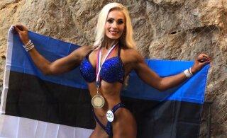 Эстонская фитнес-красавица завоевала золото чемпионата мира