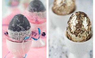 POPID MUSTRID MUNADELE! Kuidas värvida muna veiniga ja mismoodi teha diskomuna?