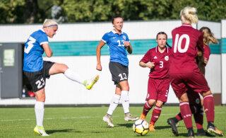 """Eesti jalgpallinaiskond kaotas valikmängus Kosovole. """"See polnud meie tegelik tase"""""""