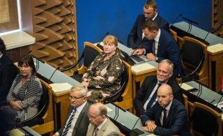 Opositsioonisaadikute spikker asendustegevusega tegelevatele koalitsioonisaadikutele