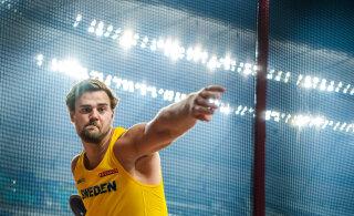 Rootsi kettaheitja püstitas kodumaal kõrgest klassist isikliku rekordi