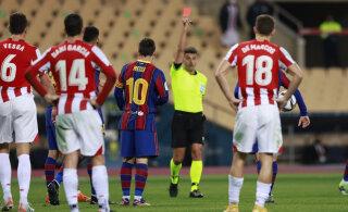 Lionel Messi pääses miinimumkaristusega