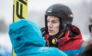 Неудачно приземлившийся эстонский прыгун травмировал шею