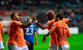 СЕГОДНЯ: Сумеет ли сборная Эстонии удивить Голландию?