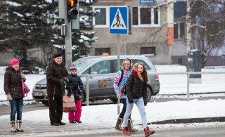 В Ласнамяэ на опасном перекрестке построят пешеходный переход