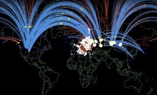 ВИДЕО | 90 млн жертв за час. Вот как выглядит симуляция ядерной войны между Россией и НАТО