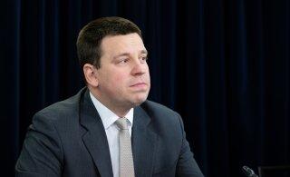 Юри Ратас обеспокоен инцидентом с кандидатом в министры, но не видит причин для его замены