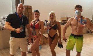 Эстонская фитнесистка завоевала золото чемпионата Европы