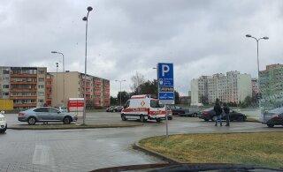 ФОТО | В Ласнамяэ предполагаемый наркодилер пытался скрыться от правоохранительных органов и сбил двух полицейских