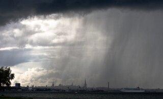 Rannailmast võib vaid unistada: lähiajal on oodata vaid pilvist taevast ning hoovihma