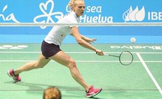 Kristin Kuuba pääses Iirimaal veerandfinaali