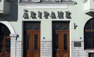 Masendus Äripangas: ekspolitseinikest pangatöötajaid kahtlustatakse rahapesus