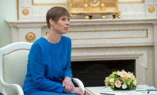 Сегодня и завтра президент Кальюлайд встретится с кандидатами в министры
