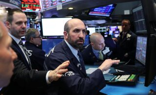 Harv börsinähtus. Investorid kardavad USA majanduslanguse ohtu
