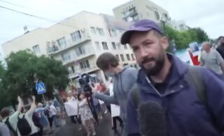 В Хабаровске очередной митинг. Смотрите, чем недовольны местные