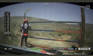 REUTERSI VIDEO   Mikkelsen pidi Mehhiko rallil keset katset endale ise värava lahti tegema