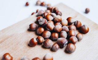 Väike ports pähkleid päevas aitab vältida kaalutõusu